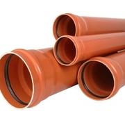 Труба и фитинги ПВХ для наружной канализации DN 110 160 200 250 315