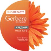 сахарная паста для шугаринга Gerbere средняя