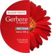 Сахарная паста для шугаринга Gerbere жесткая