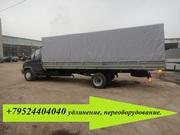 Удлинить раму на Валдай Газ 33106 до 7, 5 м фургон  40 кубов