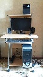 Продам б/у компьютер и комп.стол в отличном состоянии