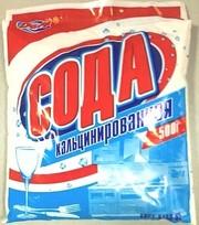 Сода кальцинированная 500г-114т., 25кг.