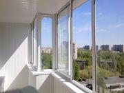 Установка пластиковых окон,  остекление балконов